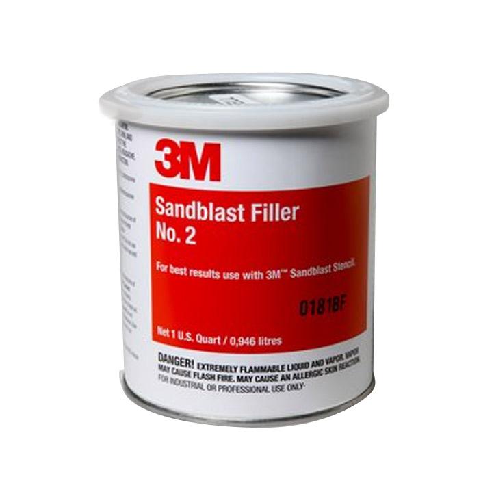 3M Sandblast Filler #2 (1ltr)