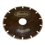 115mm ELECTROPLATED BLADE SLOTTED 22.2mm - 115mm