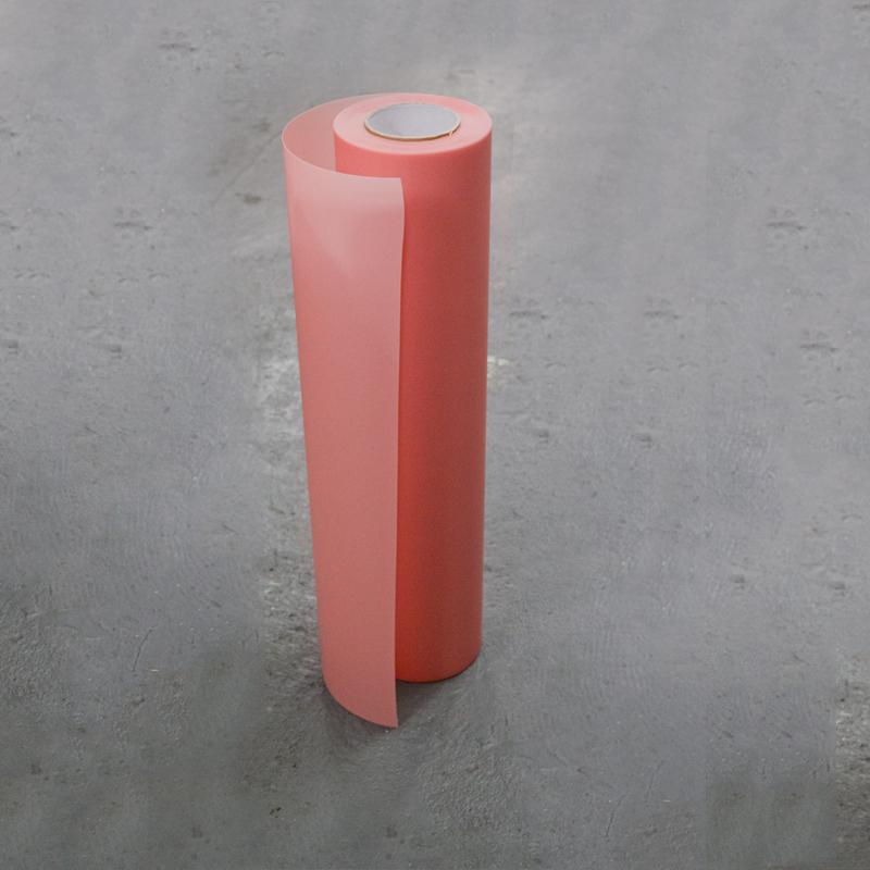 Omega Vinyl Sandblast Tape Transparent Pink 24 X 20mtrs
