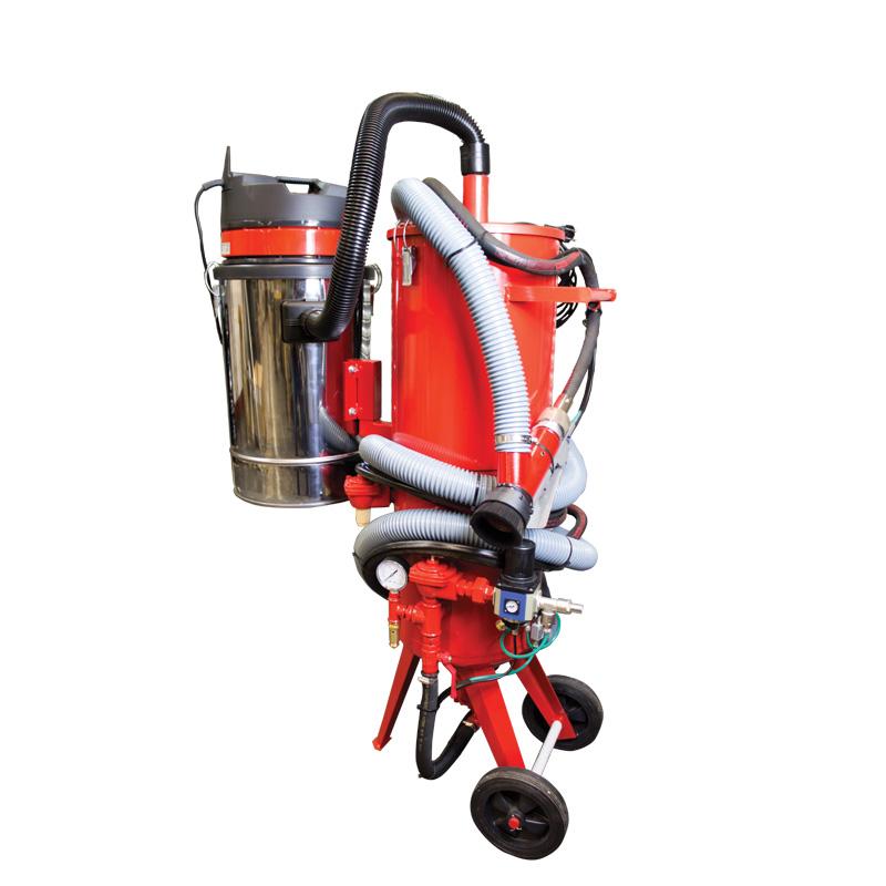 Dustless Pressure Blaster Sandblaster Harbro