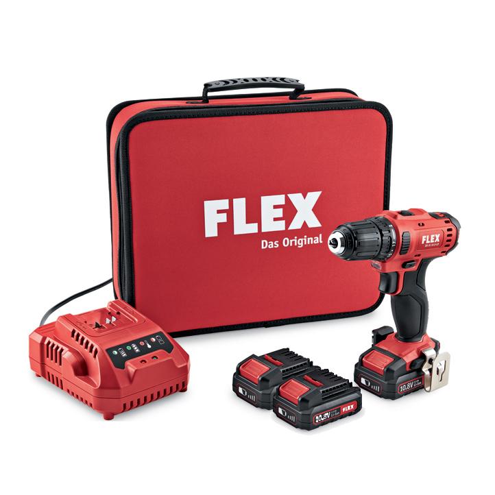 Flex 2 Speed Cordless Drill Driver 10 8 V Dd 2g 10 8 Ld